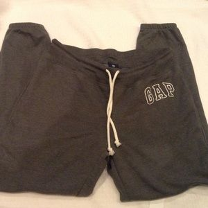 Gap  fleece pants.